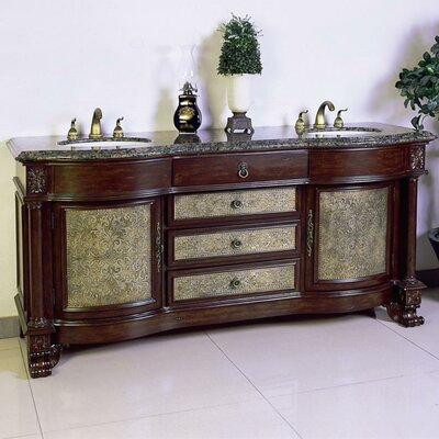 """Legion Furniture 72"""" Chest Vanity Set with Double Sink at Sears.com"""