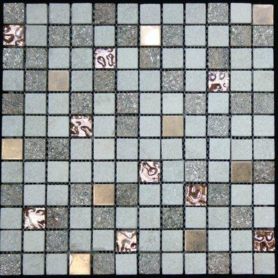 Glass Metal Tile in Multi-Color