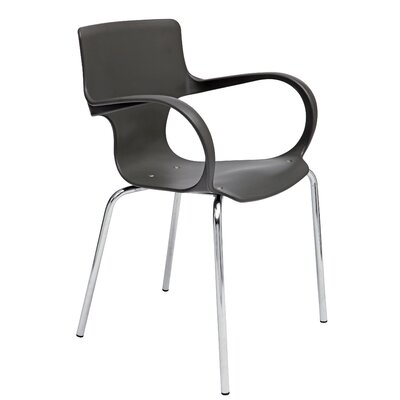 Sofia Reception Guest Chair Finish: Black