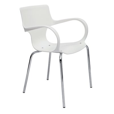 Sofia Reception Guest Chair Finish: White