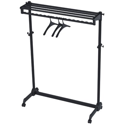 Garment Rack with Theft Deterrent Hanging System PMRAK-AT48N