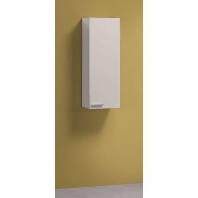 Amos Mann Furniture Milano 80 x 30cm Bathroom Cabinet in White Gloss