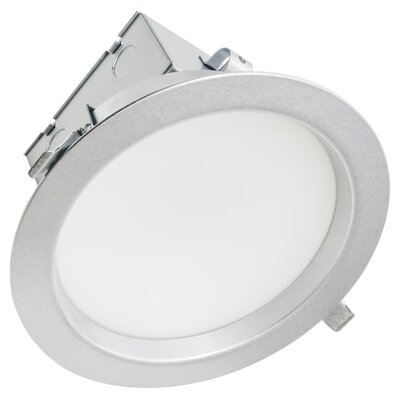 40W Magnum LED Downlight Finish: Brushed Steel