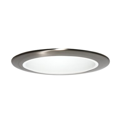 X56 Series 6 LED Recessed Trim Trim Finish: Satin Aluminum