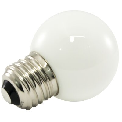Frosted E26/Medium LED Light Bulb Bulb Temperature: 5500K