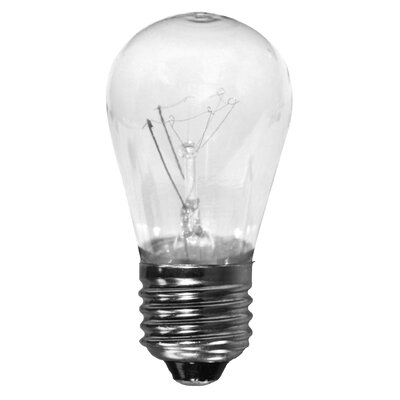 11W 130-Volt (2700K) Incandescent Light Bulb