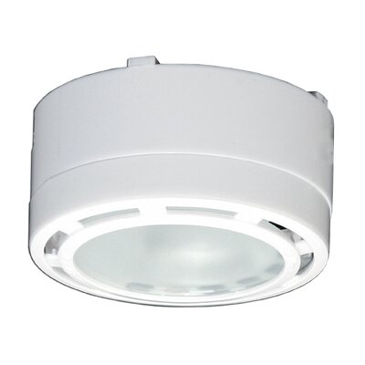 Under Cabinet Puck Light Finish: White