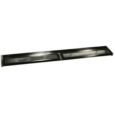 32 Under Cabinet Bar Light Finish: Dark Brown