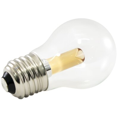 Frosted E26/Medium LED Light Bulb Bulb Temperature: 1900K