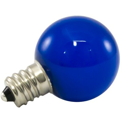 1W Blue Frosted E12/Candelabra LED Light Bulb