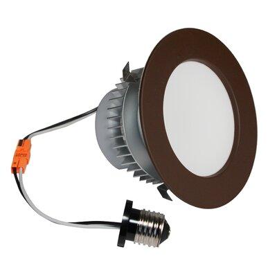 E-Pro 4 LED Recessed Retrofit Downlight Finish: Dark Bronze, Bulb: 2700 K
