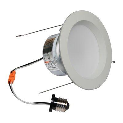 E-Pro 5 LED Recessed Retrofit Downlight Finish: White