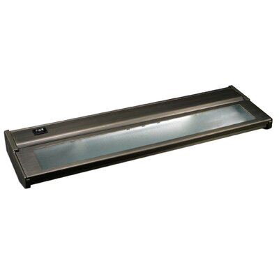 16 Xenon Under Cabinet Bar Light (Set of 2) Finish: Dark Bronze