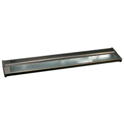 24 Under Cabinet Bar Light (Set of 2) Finish: Dark Bronze, Installation: Hardwire