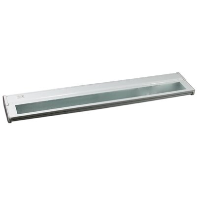 24 Under Cabinet Bar Light (Set of 2) Finish: White, Installation: Plug-in