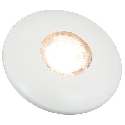 Futura LED Recessed Trim Finish: White