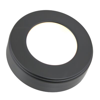 Omni LED Under Cabinet Puck Light Kit Finish: Black
