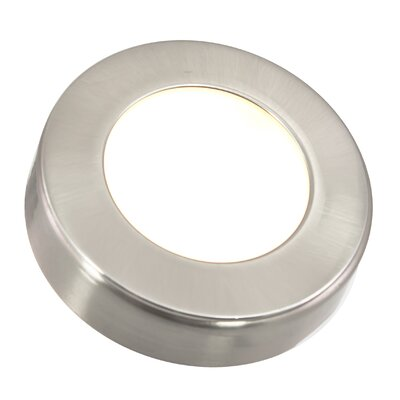 Omni LED Under Cabinet Puck Light Finish: Nickel