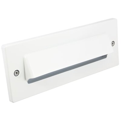 LED Step Light Cover Finish: White