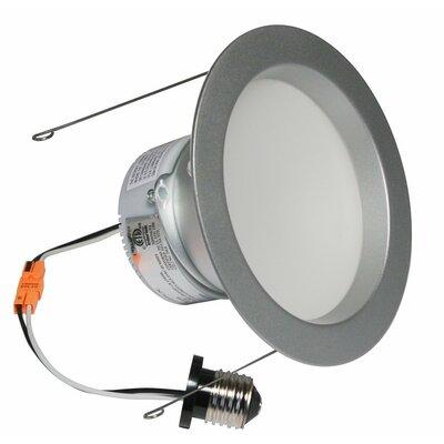 E-Pro 6 LED Recessed Retrofit Downlight Finish: Brushed Steel, Bulb: 2700 K 10 W LED