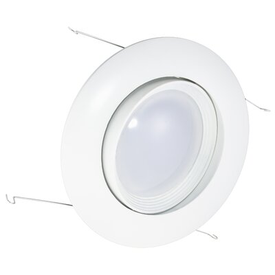 6 LED Recessed Trim Finish: White