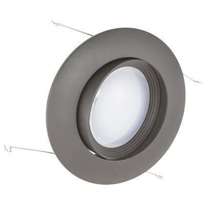 6 LED Recessed Trim Finish: Dark Bronze