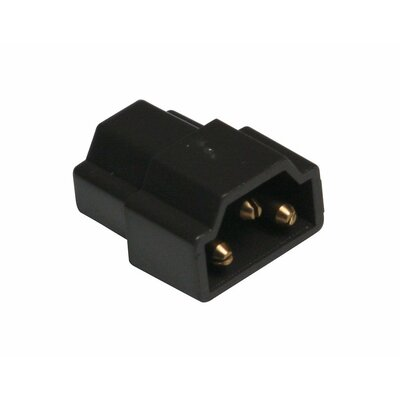 Inline Connector Finish: Black
