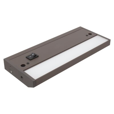 8 Under Cabinet Bar Light Finish: Dark Bronze
