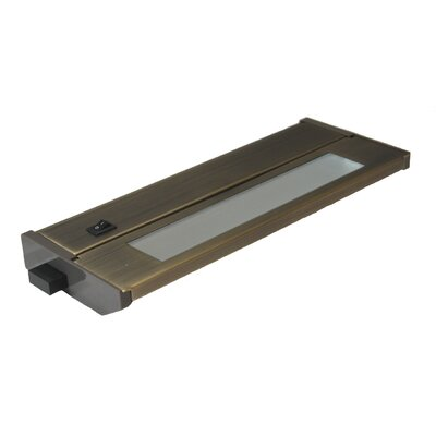 Priori Fluorescent 10 Under Cabinet Bar Light (Set of 2) Finish: Dark Bronze, Wattage: 6W