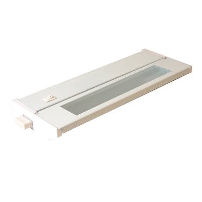 Priori Fluorescent 10 Under Cabinet Bar Light (Set of 2) Finish: White, Wattage: 6W