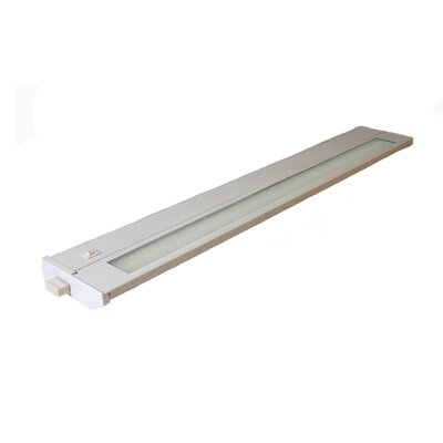 Priori 22 Under Cabinet Bar Light (Set of 2) Finish: White, Wattage: 13W
