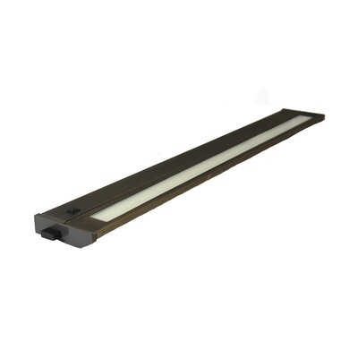 Priori 28 Under Cabinet Bar Light (Set of 6) Finish: Dark Bronze, Wattage: 18W