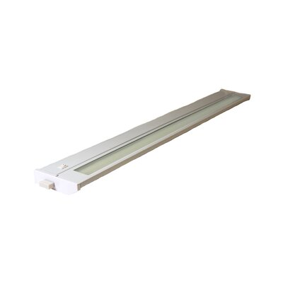 Priori 28 Under Cabinet Bar Light (Set of 6) Finish: White, Wattage: 18W