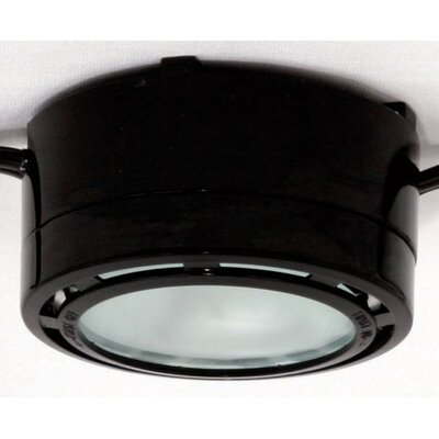 Halogen Under Cabinet Puck Light Finish: White