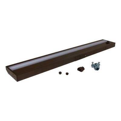 24.19 LED Under Cabinet Bar Light Finish: Dark Bronze
