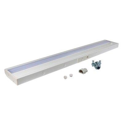 24.19 LED Under Cabinet Bar Light Finish: White