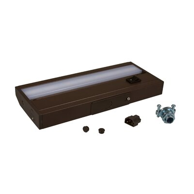 LED 8.5 Under Cabinet Bar Light Finish: Dark Bronze