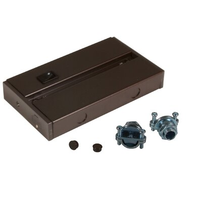 Hardwire Box Finish: Dark Bronze