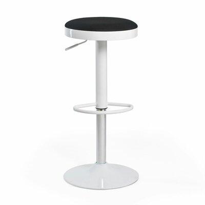 Aeon Furniture Fun, Colorful Carrie Adjustable Height Swivel Bar Stool