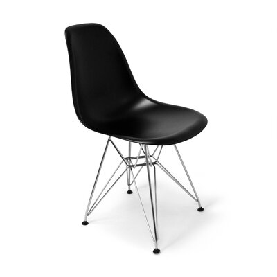 Chantal Side Chair Finish: Black Matte
