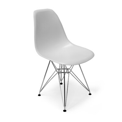 Chantal Side Chair Finish: White Matte
