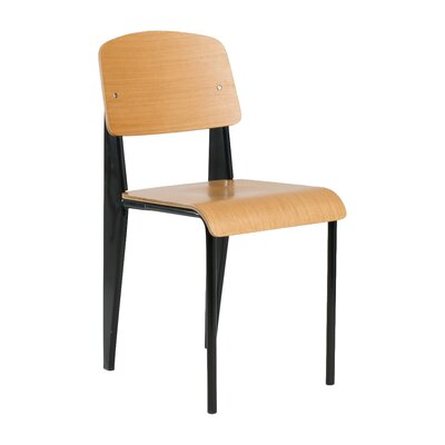 Contemporary Sally Side Chair Color: Black
