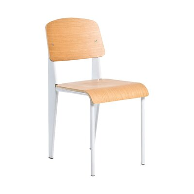 Contemporary Sally Side Chair Finish: White