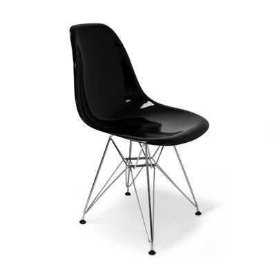 Chantal Side Chair Finish: Black Gloss