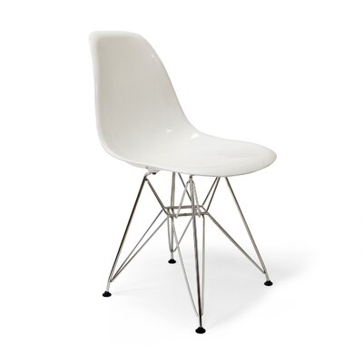 Chantal Side Chair Finish: White Gloss