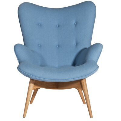 Jules Arm Chair Upholstery: Blue