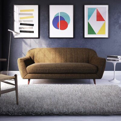 Daisy Sofa Upholstery: Brown