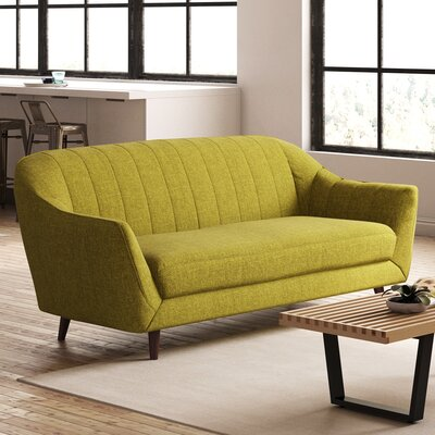 Daisy Sofa Color: Green
