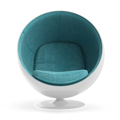 Ball Chair Upholstery: Blue