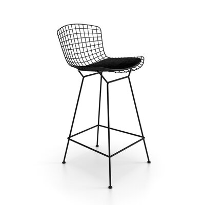 Ellie 26 Bar Stool Finish: Black